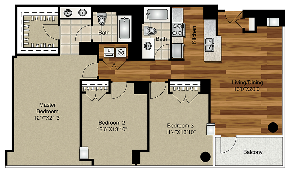 Apartments For Rent In Chicago West Loop K2 Apartments